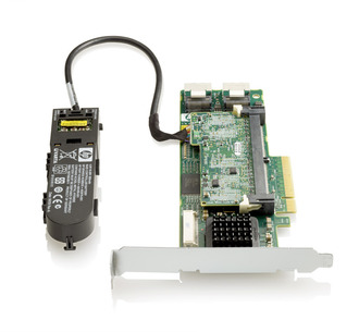 Контроллер HP smart array p410/1gb with flash bwc (572532-b21)