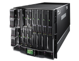 Шасси HP BladeSystem c7000 Sin-Phase 10U Platinum Enclosure (up to 16 c-class blades), incl. 6 PS (full), 10 Fans (full), ROHS, 16 Insight Control Licenses (repl. 507015-B21) (681842-B21)