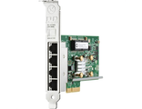 Сетевая карта HP Ethernet Adapter, 331T, 4x1Gb (647594-B21) PCIe(2.0), for DL165/580/980G7 & Gen8-servers
