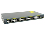 Коммутатор CISCO Catalyst 2960 48 10/100 + 2 1000BT LAN (WS-C2960-48TT-L)